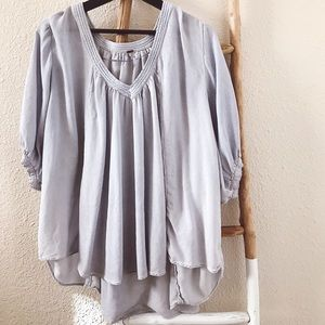 Free People Tops - Free People Oversized Blouse